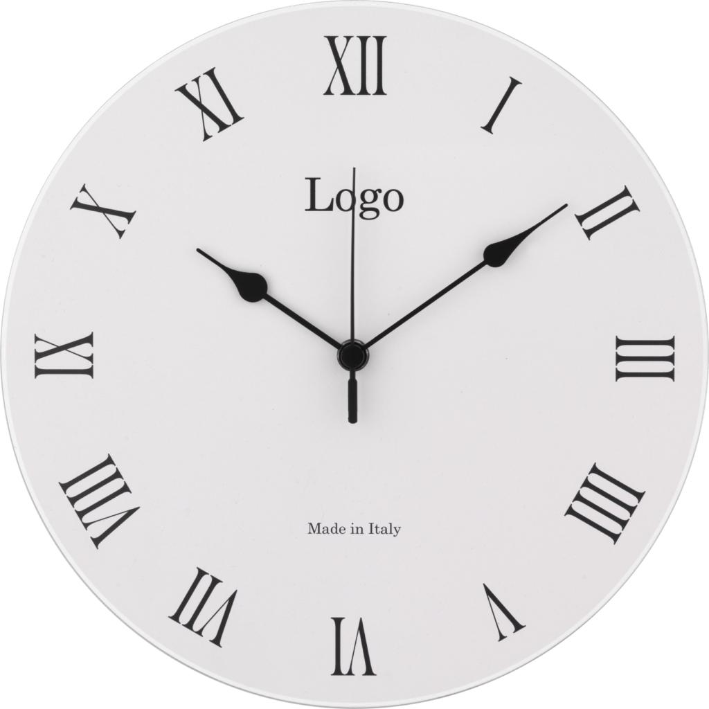 Regalo aziendale: orologio da parete personalizzabile con il tuo logo in legno