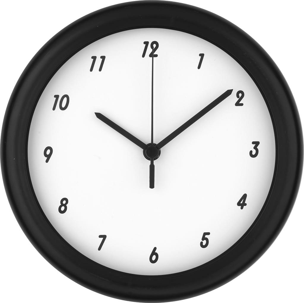 orologio promozionale da parete in plastica