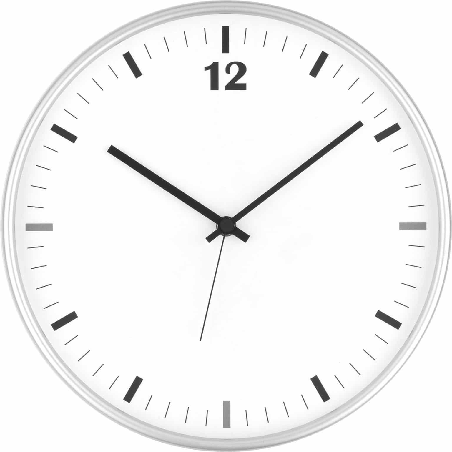 orologio pubblicitario da parete in plastica