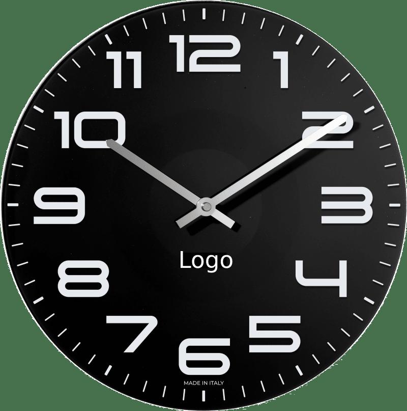 orologio pubblicitari da parete in vetro (2)