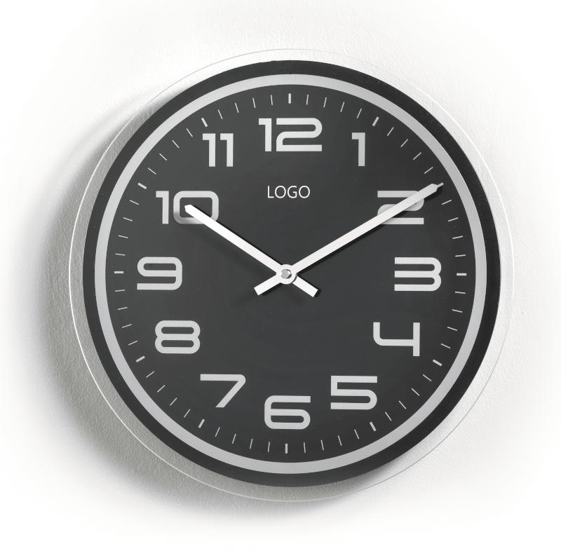 Promotional wall clocks with metal case Promorologi Contini 10