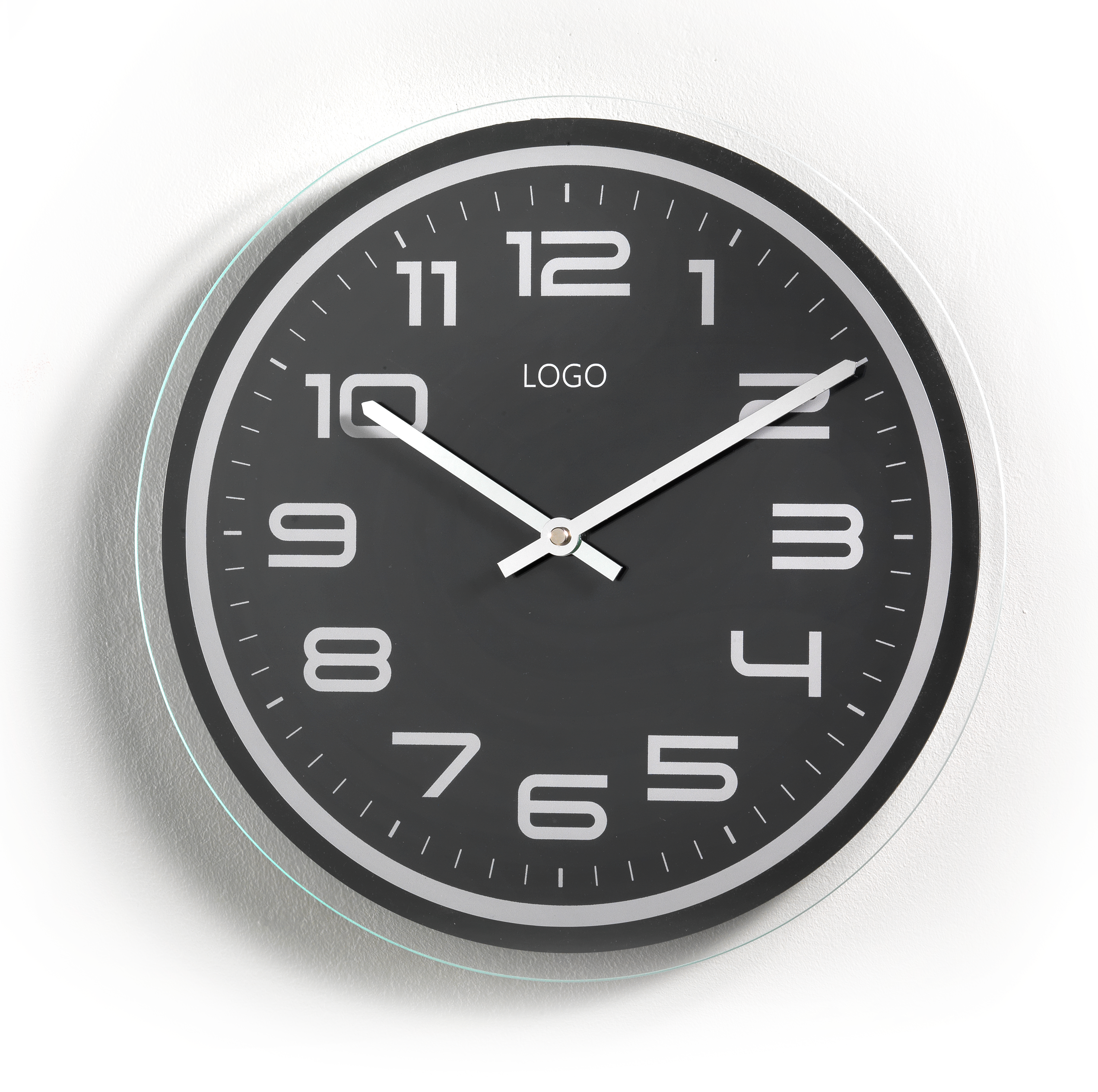 Exemple of Promotional wall clocks with metal case Promorologi Contini