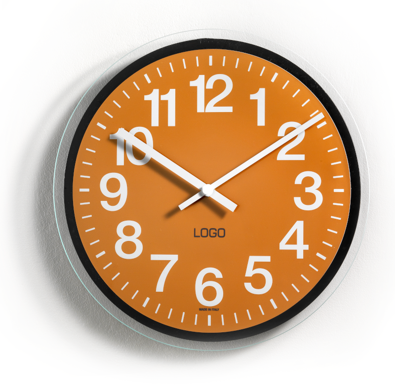 Promotional wall clocks without glass